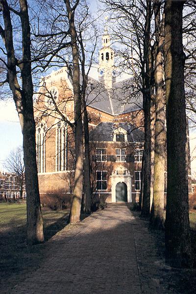 Nieuwe Kerk opgang